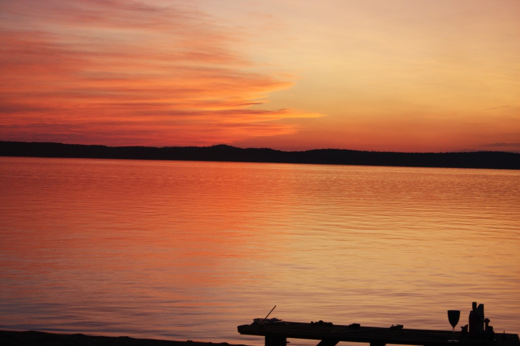 Nice Sunset at Brown\'s Resort (north of Atikokan)
