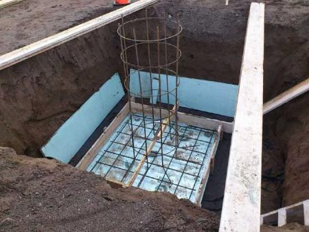 Rebar Cage for Pier