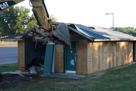Demolition Begins...