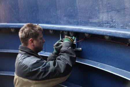 Installation of Dome Drive Motor