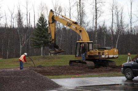 The Digging Begins