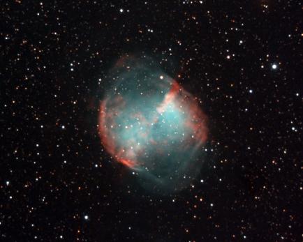 Messier 27 - Dumbell Nebula